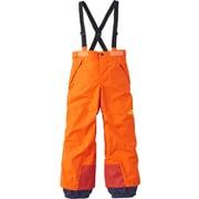 スノートリクライメイトパンツ SNOW TRICLIMATE PANT NSJ61811 (PO)ペルシャオレンジ 100cm [スキーウェアジュニア]