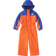 ウォータープルーフワンピース WP ONEPIECE NSJ61855 (PS)ペルシャオレンジ×ソーダライトブルー 100cm [スキーウェアジュニア]