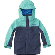 スノートリクライメイトジャケット NSJ61801 (CK)コズミックブルー×ココモグリーン 100cm [スキーウェアジュニア]