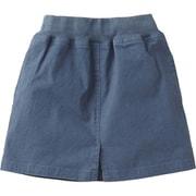 Cotton OX Skirt NBG81830 (BT)ブルーウィングティール 110cm [スカート キッズ用]