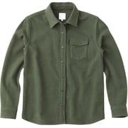 ロングスリーブ セルセンウールシャツ L/S THIELSEN WOOL SHIRT NRW61607 (NT)ニュートープ Mサイズ [アウトドア シャツ レディース]