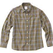 ロングスリーブ オラリーシャツ L/S OLALLIE SHIRT NRW61608 (Y)イエロー Lサイズ [アウトドア シャツ レディース]