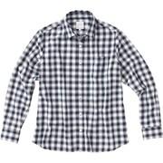 ロングスリーブ オラリーシャツ L/S OLALLIE SHIRT NRW61608 (WN)ホワイトネイビー Lサイズ [アウトドア シャツ レディース]