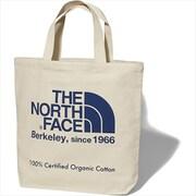 TNF Organic Cotton Tote NM81908 SO_ナチュラル×ソーダライトB [アウトドア系バッグ]