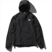 マウンテンソフトシェルフーディ Mountain Softshell Hoodie NP21703 (K)ブラック Mサイズ [アウトドア ジャケット メンズ]