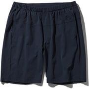 Flexible Short NB91775 (UN)アーバンネイビー Lサイズ [ランニングパンツ メンズ]