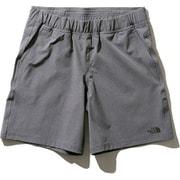 フレキシブルショーツ Flexible Shorts NBW91785 (ZC)ミックスチャコール XLサイズ [ランニングパンツ レディース]