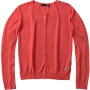 ロングスリーブワクロスカーディガン L/S W-CLOTH CARDIGAN NTW11723 (P)ピンク Sサイズ [アウトドア フリース レディース]