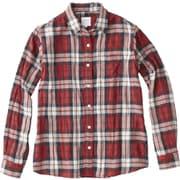 L/S Tuolumne Shirt NRW61707 (R)レッド Lサイズ [アウトドア シャツ レディース]