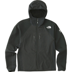 FUSEFORM GRID HOOD NA61701 (K)ブラック WSサイズ [アウトドア ジャケット レディース]