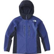 FUSEFORM GRID HOOD NA61701 (IB)イノギュレーションブルー WSサイズ [アウトドア ジャケット レディース]