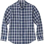 ロングスリーブ ネバダシャツ L/S NEVADA SHIRT NR11803 (TB)タータンブルー Sサイズ [アウトドア シャツ メンズ]