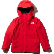 マウンテンジャケット Mountain Jacket NPW61800 (FR)ファイアリーレッド Lサイズ [アウトドア ジャケット レディース]