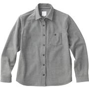 インヨーシャツ INYO SHIRT NRW61803 (Z)ミックスグレー Lサイズ [アウトドア シャツ レディース]