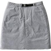 ミラージュサーマルスカート Mirage Thermal Skirt NYW81808 (Z)ミックスグレー Mサイズ [アウトドア スカート レディース]