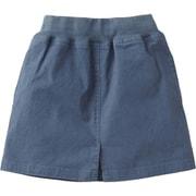 Cotton OX Skirt NBG81830 (BT)ブルーウィングティール 130cm [スカート キッズ用]