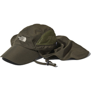 Sunshield Cap NN01905 (ND)ニュートープダークグリーン Mサイズ [アウトドア 帽子 キャップ]