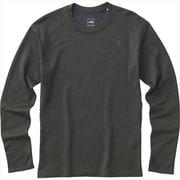 ロングスリーブクライメートウールクルー L/S Climate Wool Crew NT61871 (ZC)ミックスチャコール Mサイズ [アウトドア カットソー メンズ]
