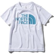 S/S TNF Logo Tee NTJ31972 (W)ホワイト 120cm [ウェア キッズ用]