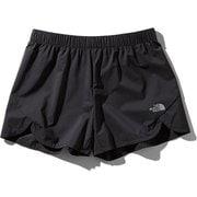 スワローテイルショーツ Swallowtail Shorts NBW41984 (K)ブラック Sサイズ [ランニングパンツ レディース]