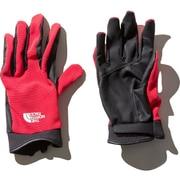 NN11903 Simple TreKKers Glove (JR)ジューシーレッド XSサイズ [アウトドア グローブ]