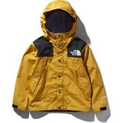 Mountain Raintex Jacket NPJ11908 (TY)TNFイエロー 140cm [レインウェア キッズ用]