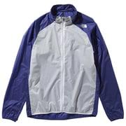 インパルスレーシングジャケット Impulse Racing Jacket NP21980 (AB)アズテックブルー Sサイズ [ランニング用ジャケット メンズ]