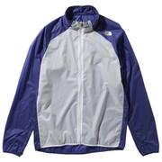 インパルスレーシングジャケット Impulse Racing Jacket NP21980 (AB)アズテックブルー Lサイズ [ランニング用ジャケット メンズ]
