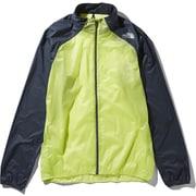 インパルスレーシングジャケット Impulse Racing Jacket NP21980 (SE)シャープグリーン Lサイズ [ランニング用ジャケット メンズ]