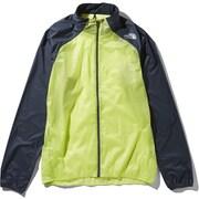 インパルスレーシングジャケット Impulse Racing Jacket NP21980 (SE)シャープグリーン Mサイズ [ランニング用ジャケット メンズ]