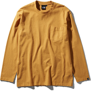 L/S GD Heavy Cotton Tee NT81831 (IG)インカゴールド Mサイズ [アウトドア カットソー メンズ]