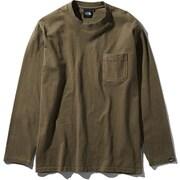 L/S GD Heavy Cotton Tee NT81831 (NL)ニュートープライトグリーン XLサイズ [アウトドア カットソー メンズ]