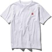 S/S Small Box Logo Tee NT31955 W_ホワイト Sサイズ [アウトドア カットソー メンズ]