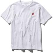 S/S Small Box Logo Tee NT31955 (W)ホワイト XLサイズ [アウトドア カットソー メンズ]