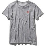 S/S Small Box Logo Tee NTW31955 (Z)ミックスグレー Lサイズ [アウトドア カットソー レディース]