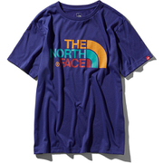 S/S Colorful Logo Tee NT31931 (AB)アズテックブルー Lサイズ [アウトドア カットソー メンズ]