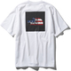 S/S National Flag Square Logo Tee L WU [アウトドア 半袖Tシャツ]