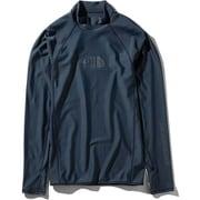 ロングスリーブウォーターサイドラッシュ L/S Waterside Rash NT11943 (CM)コズミックブルー Sサイズ [アウトドア カットソー メンズ]