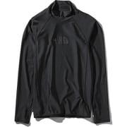 ロングスリーブウォーターサイドラッシュ L/S Waterside Rash NT11943 (K)ブラック XLサイズ [アウトドア カットソー メンズ]