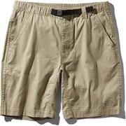 コットンオックスライトショーツ Cotton OX Light Short NB41941 (WB)ツイルベージュ Lサイズ [アウトドア ショートパンツ メンズ]