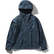 Novelty Compact Jacket NPW71535 (VN)ベジテカモネイビー Sサイズ [アウトドア ジャケット レディース]