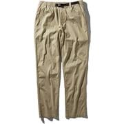 コットンオックスライトパンツ Cotton OX Light Pant NB31940 (WB)ツイルベージュ Lサイズ [アウトドア パンツ メンズ]