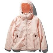 Compact Jacket NPW71830 (PS) ピンクソルト Sサイズ [アウトドア ジャケット レディース]