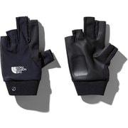 フィンガーレスTRグローブ Fingerless TR Glove NN11971 (K)ブラック Lサイズ [スポーツウェアアクセサリ グローブ]