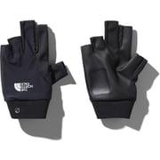 フィンガーレスTRグローブ Fingerless TR Glove NN11971 (K)ブラック Mサイズ [スポーツウェアアクセサリ グローブ]