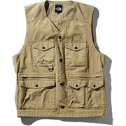 Firefly Camp Vest NP21936 (WB)ツイルベージュ Lサイズ [アウトドア ベスト メンズ]