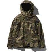 ノベルティースクープジャケット Novelty Scoop Jacket NP61845 (WD)ウッドランド2 Lサイズ [アウトドア ジャケット メンズ]