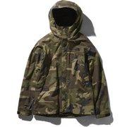 ノベルティースクープジャケット Novelty Scoop Jacket NP61845 (WD)ウッドランド2 XLサイズ [アウトドア ジャケット メンズ]