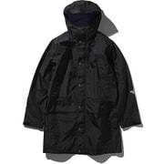 マウンテンレインテックスコート Mountain Raintex Coat NP11940 (K)ブラック XLサイズ [アウトドア レインウェア メンズ]