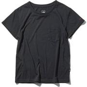 ショートスリーブポケットティー S/S Pocket Tee NTW31935 (K)ブラック XLサイズ [アウトドア カットソー レディース]